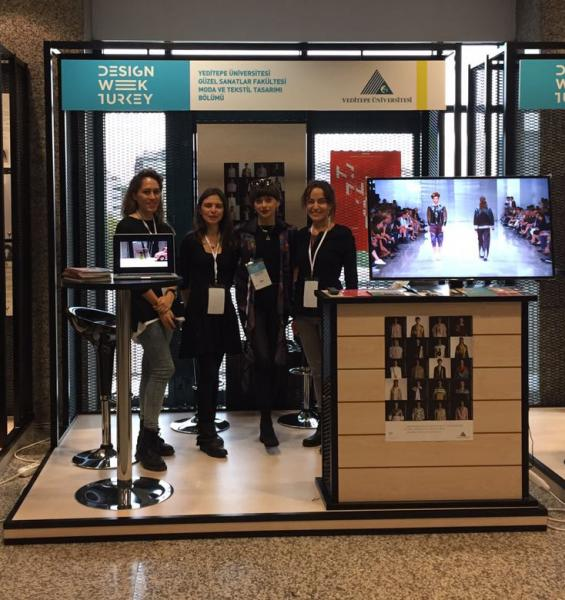 The Fashion And Textile Design Department Took Part In Design Week Turkey 2016 Yeditepe University