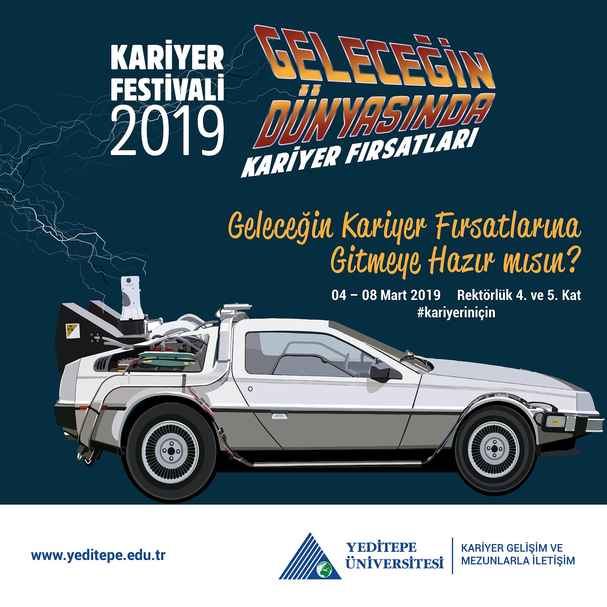Yeditepe Üniversitesi Kariyer Festivali 2019 ile ilgili görsel sonucu