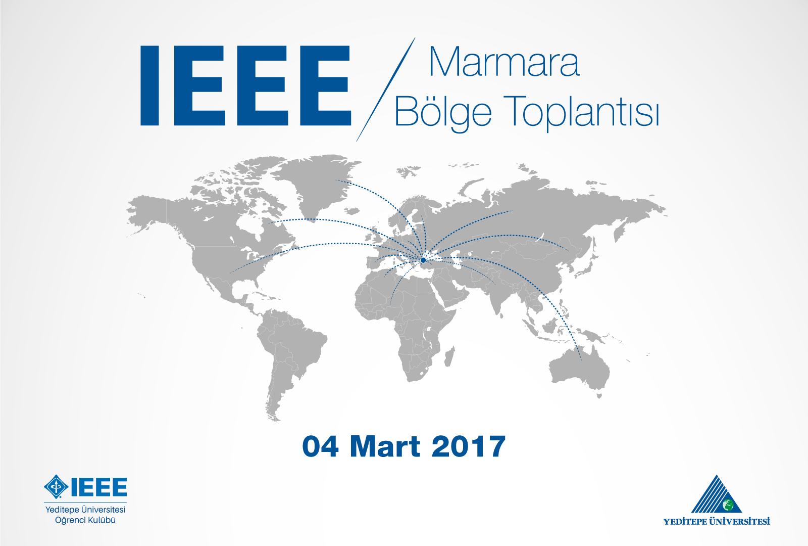 IEEE Topluluğu olarak 29 farklı üniversiteden 1000'e yakın katılımcının yer aşdığı Marmara Bölge Toplantısına ev sahipliği yapmaktayız