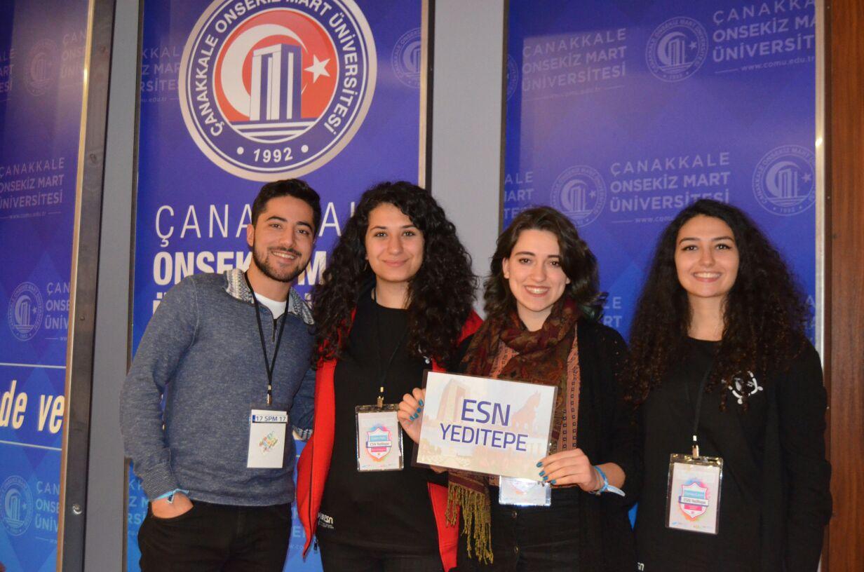 YISS/ESN Yeditepe kulübündeki öğrencilerimiz yılda bir kez gerçekleşen ve bu yıl Çanakkale'de düzenlenen ESN Türkiye SPM ulusal toplantısına katılmışlardır. SPM toplantısına katılım ile üniversiteler ve kulüpler arası işbirliğini artırmak ve Erasmus-Exchange öğrencilerine yönelik projeler geliştirerek yılda bir kez gerçekleşen uluslararası düzeydeki Yıllık Genel Toplantı'da ESN Yeditepe'nin görünürlüğünü artırmak amaçlanmıştır. Ulusal Ajans'ın da katıldığı bu toplantıda Erasmus+ değişim programının Türkiye'