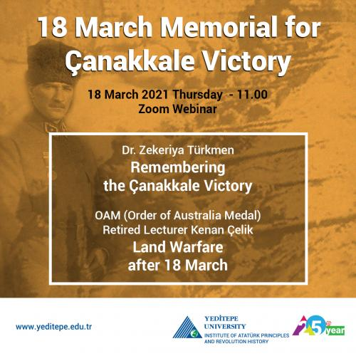 18 March Memorial for Çanakkale Victory