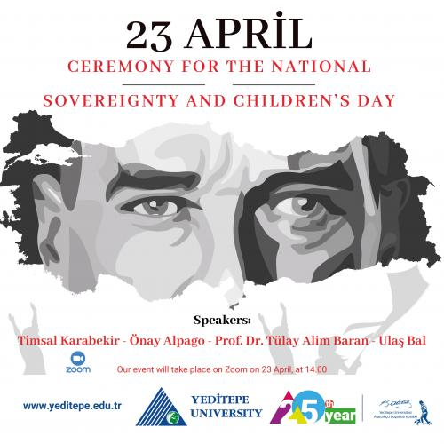 23 April Ceremony for The National Sovereignty and Children's Day