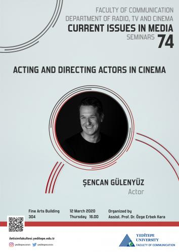 Acting and Directing Actors in Cinema