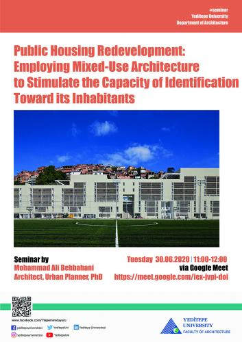 Faculty of Architecture - Public Housing Redevelopment: Employing Mixed-Use Architecture To Stimulate The Capacity Of Identification Towards Its Inhabitants