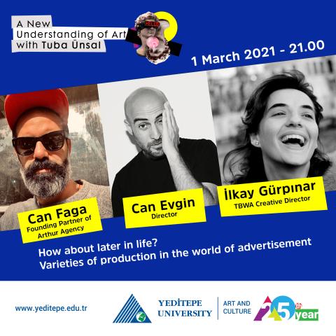 Art and Culture - A New Understanding of Art with Tuba Ünsal   Can Faga & Can Evgin & İlkay Gürpınar