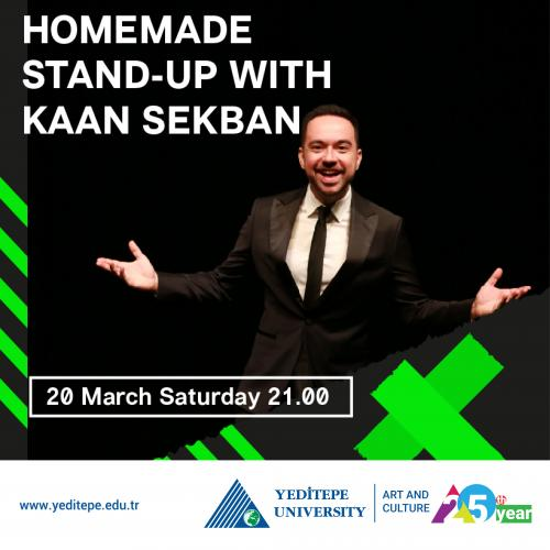 Homemade Stand-Up With Kaan Sekban