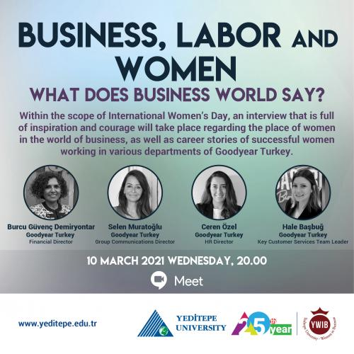 Business, Labor and Women | What Does Business World Say?