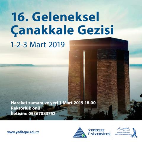 16. Geleneksel Çanakkale Gezisi