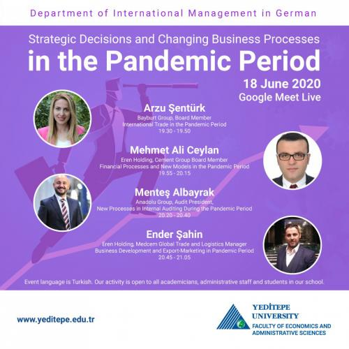 Strategic Decision and Changing Business Processes in the Pandemic Period