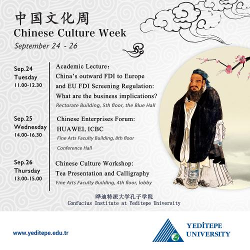 Confucius Institute - Chinese Culture Week