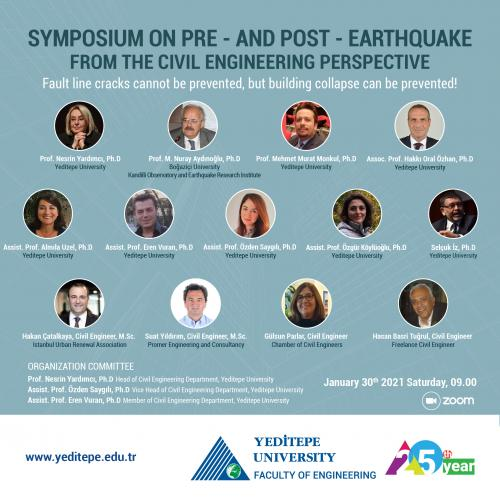Symposium On Pre - And Post - Earthquake From The Civil Engineering Perspective