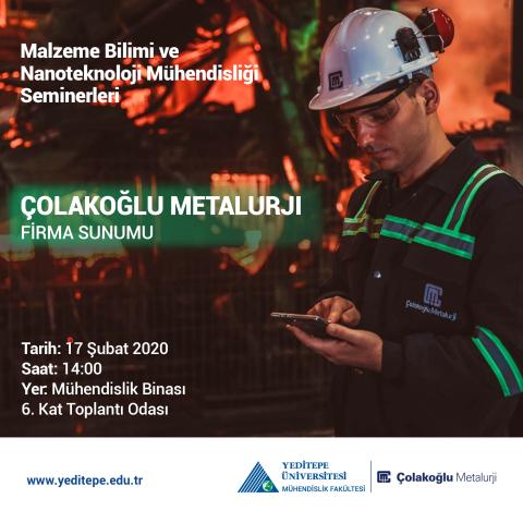 Çolakoğlu Metalurji - Firma Sunumu