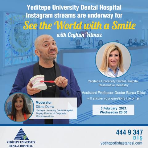 See the World with a Smile with Ceyhun Yılmaz (03.02.2021)
