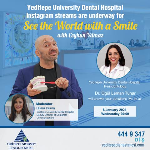 See the World with a Smile with Ceyhun Yılmaz (06.01.2021)