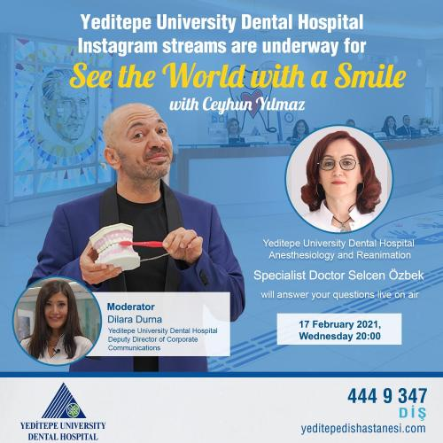 See the World with a Smile with Ceyhun Yılmaz (17.02.2021)