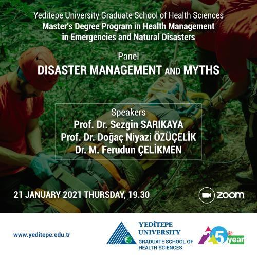 Panel: Disaster Management and Myths