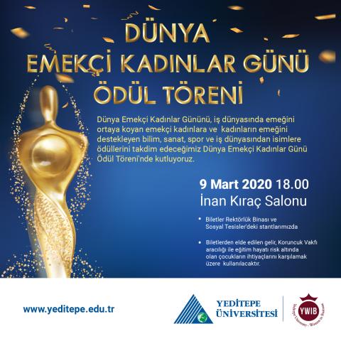 Dünya Emekçi Kadınlar Günü Ödül Töreni