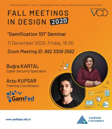 Fall Meetings in Design 2020 - Gamification 101