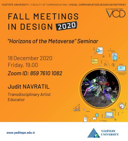 Fall Meetings in Design 2020 - Horizons of the Metaverse