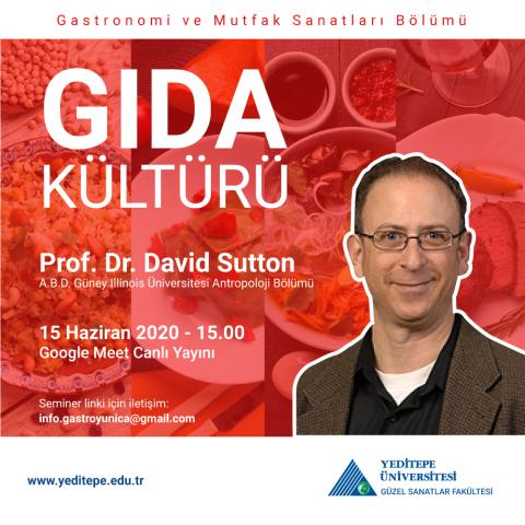 Gıda Kültürü - Prof. Dr. David Sutton