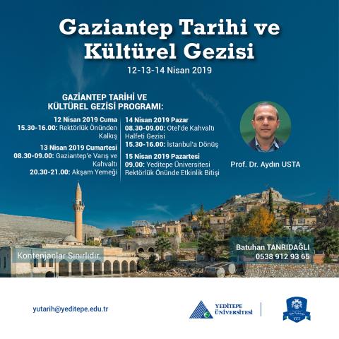Gaziantep Tarihi ve Kültürel Gezisi