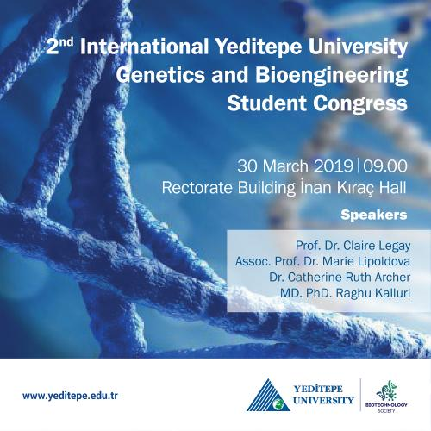 2nd International Genetics and Bioengineering Student Congress