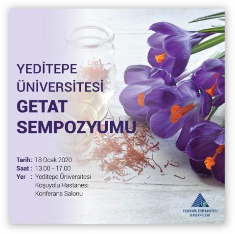 Yeditepe Üniversitesi GETAT Sempozyumu