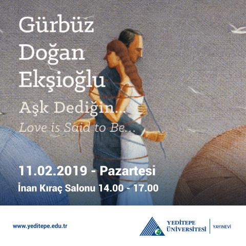 Gürbüz Doğan Ekşioğlu - Love is Said to Be...