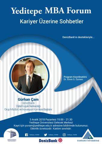 Yeditepe MBA Forum / Kariyer Üzerine Sohbetler