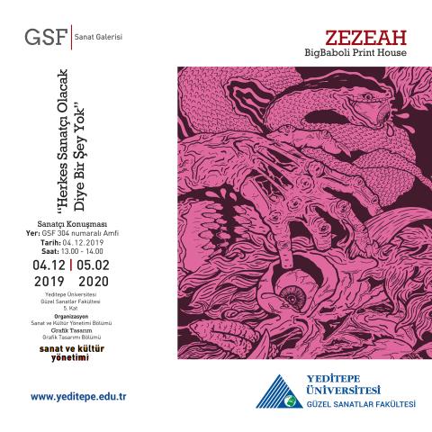 GSF Sanat Galerisi - ZEZEAH Bigbaboli Print House |