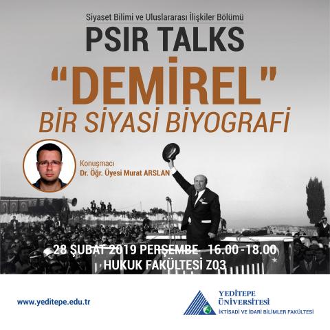 PSIR TALKS -