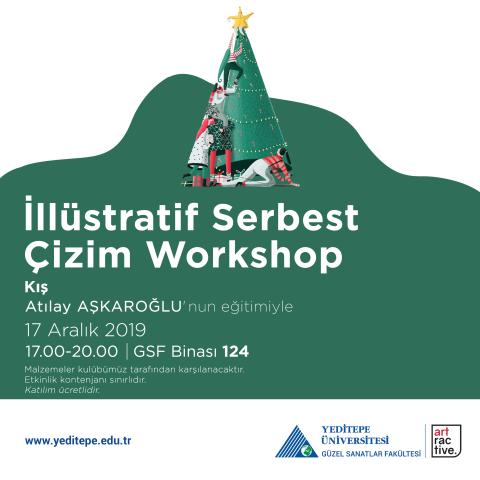 İllüstratif Serbest Çizim Workshop