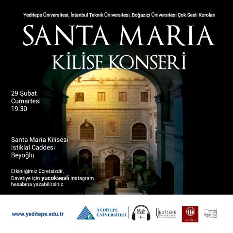 Santa Maria Kilise Konseri