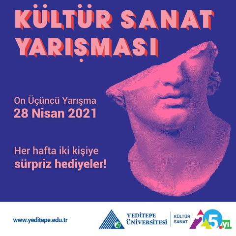 Kültür Sanat Yarışması (28.04.2021)