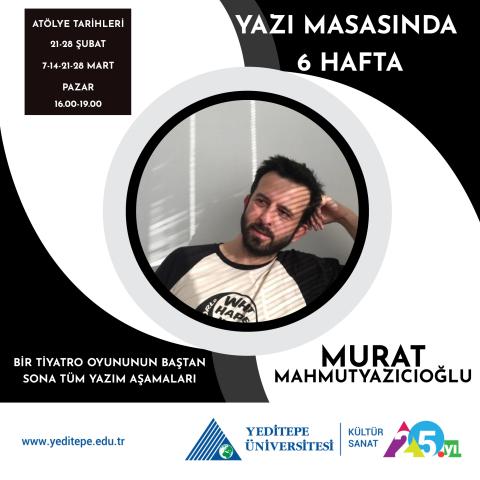 6 Weeks at a Desk with Murat Mahmutyazıcıoğlu