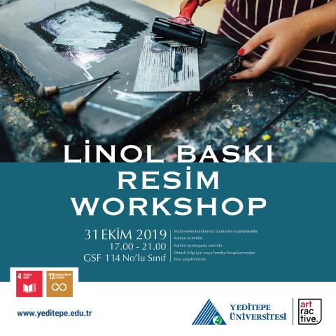 Linol Baskı   Resim Workshop
