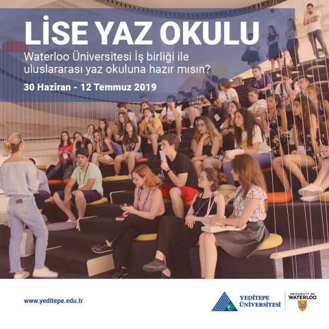 Lise Yaz Okulu | Waterloo Üniversitesi