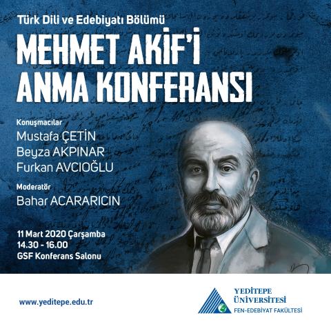 Mehmet Akif'i Anma Konferansı