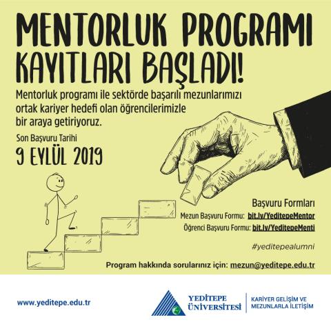 Mentorluk Programı Başlıyor!