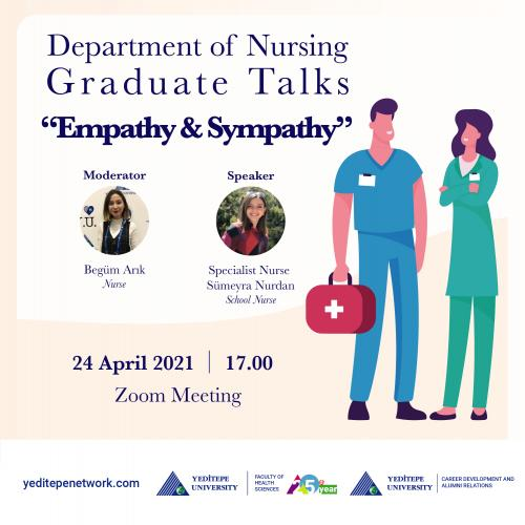 Department of Nursing Graduate Talks - Empathy & Sympathy