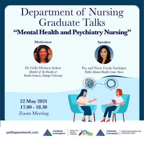 Department of Nursing Graduate Talks - Mental Health and Psychiatry Nursing