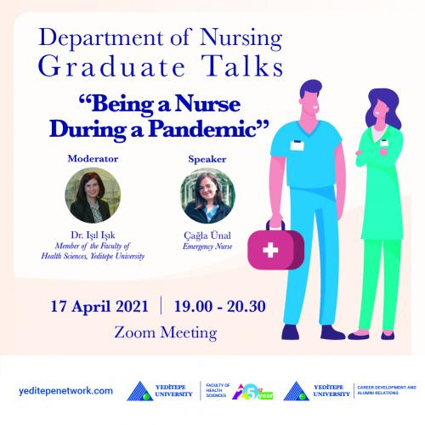 Department of Nursing Graduate Talks - Being a Nurse During a Pandemic