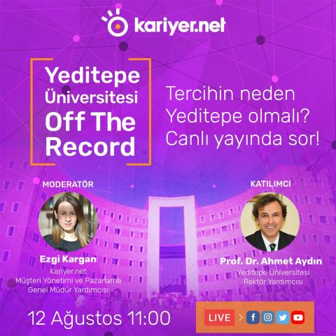 Yeditepe Üniversitesi Off The Record