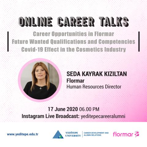 Online Career Talks - Career Opportunities at Flormar
