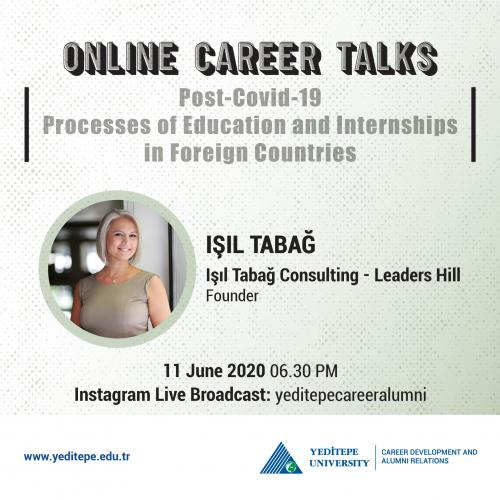 Online Career Talks - Post-Covid-19 Processes of Education and Internships in Foreign Countries