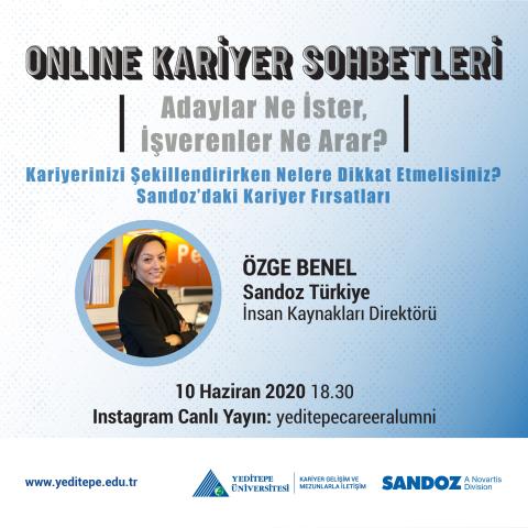 Online Kariyer Sohbetleri - Sandoz'daki Kariyer Fırsatları