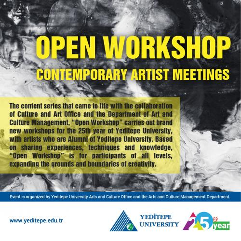 Open Workshop - Contemporary Artist Meetings
