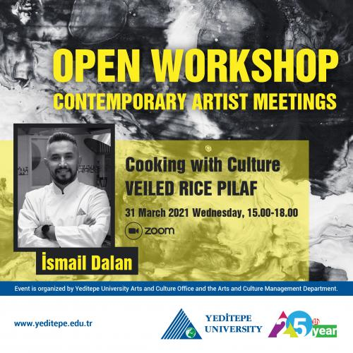 Open Workshop - Contemporary Artist Meetings   Cooking with Culture
