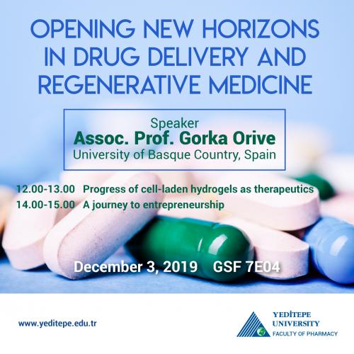 Opening New Horizons in Drug Delivery and Regenerative Medicine