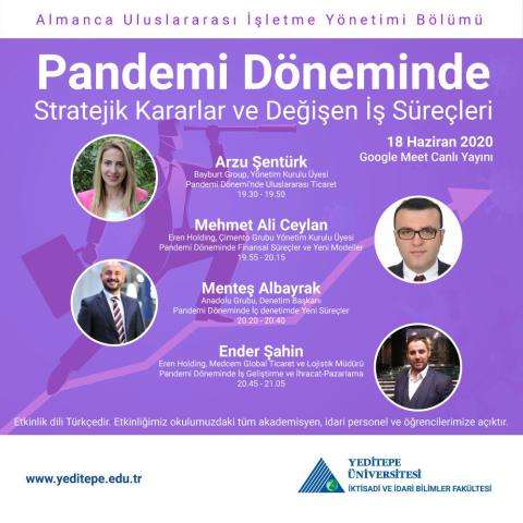 Pandemi Döneminde Stratejik Kararlar ve Değişen İş Süreçleri
